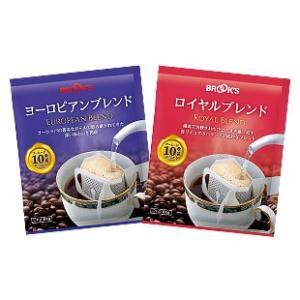 ブレンドコーヒーの人気銘柄 独特な風味と深みのある苦みの「ヨーロピアンブレンド」。 香りとコクのバラ...