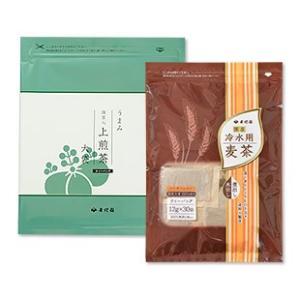 ゴクゴク水分補給!麦茶&上煎茶セット 抹茶 煎茶 日本茶 麦茶 ブルックス BROOK'S BROOKS|brooks