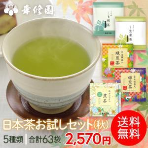 日本茶 煎茶 宇治抹茶 抹茶 緑煎茶 ティーバッグ 日本茶お試しセット(秋) ブルックス BROOK'S BROOKS 送料無料|brooks