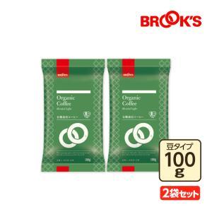 コーヒー 珈琲 コーヒー豆 珈琲豆 レギュラー有機栽培コーヒー 200g 豆 ブルックス BROOK'S BROOKS|brooks