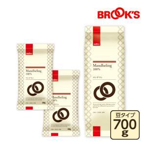 ブルックス レギュラーコーヒー【豆】マンデリン 1kgセット