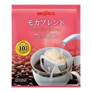 10%OFF コーヒー 珈琲 ドリップバッグコーヒー ドリップコーヒー ドリップパックコーヒー モカ ブレンド 180袋 ブルックス BROOK'S BROOKS|brooks