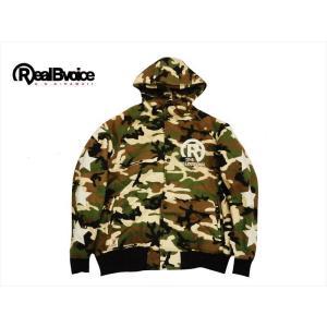 REAL B VOICE/リアルビーボイス ジャケット 17AWM702 袖スター ロゴデザイン キルティング パーカージャケット カモ|bros-clothing