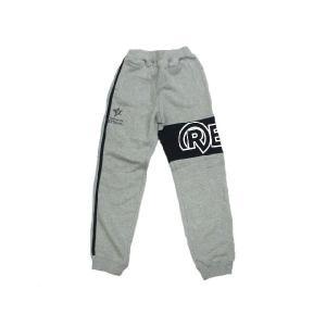リアルビーボイス/REAL B VOICE・キッズ 2147587 「Rロゴ」サーフ・裏毛スウェットパンツ/子供用(サイズ140) グレー|bros-clothing