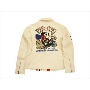 錦 PANDIESTA/パンディエスタ トラッカージャケット 539855 刺繍&プリント