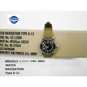 BUZZ RICKSON'S バズリクソンズ BR02613 ウォッチ ナビゲーション(WATCH NAVIGATION) タイプ A-11 米陸軍航空隊 腕時計 bros-clothing