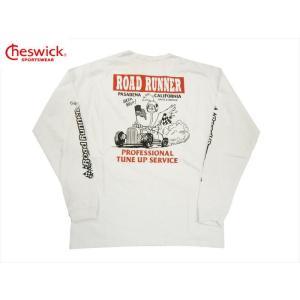 CHESWICK チェスウィック×ロードランナー・コラボ 長袖Tシャツ CH68114