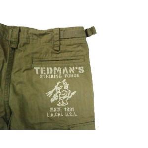 テッドマン TEDMAN・エフ商会 DEVIL-CP-1000 M-65タイプ TEDMAN・ミリタリーカーゴパンツ カーキ|bros-clothing|03