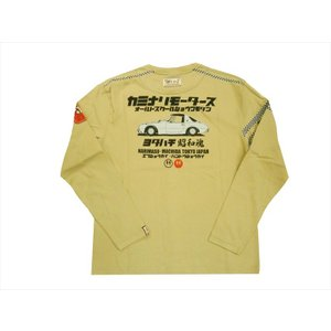 カミナリ/KAMINARI エフ商会 長袖Tシャツ KMLT-197