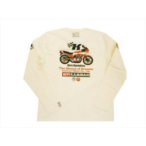 カミナリ/KAMINARI エフ商会 長袖Tシャツ KMLT-198