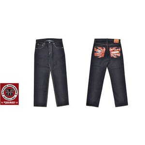 カミナリ KAMINARI/ エフ商会・ジーンズ KMP-001「KAMINARI/4メリ」14ozデニムパンツ インディゴ 送料無料|bros-clothing