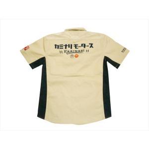 カミナリ KAMINARI  半袖シャツ KMS-01