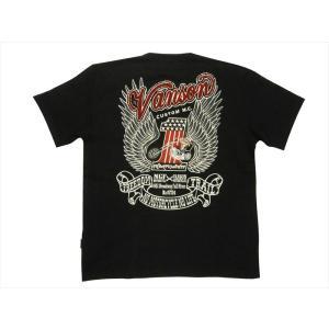 バンソン VANSON×NGF・コラボ Tシャツ NGF25-791 刺繍&プリント