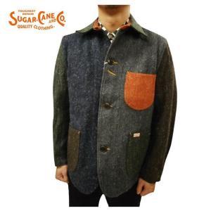 SUGAR CANE LIGHT/シュガーケーン ライト ジャケット SC14029 ウール クレイジー ワークジャケット|bros-clothing
