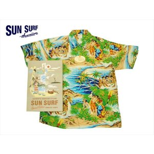 SUN SURF サンサーフ SPECIAL EDITION 半袖アロハシャツ SS37862