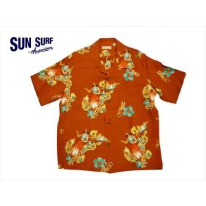 SUN SURF サンサーフ アロハシャツ SS38033