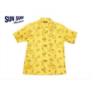 SUN SURF サンサーフ アロハシャツ SS38107