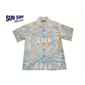 SUN SURF サンサーフ アロハシャツ SS38109