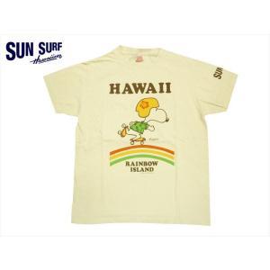 サンサーフ/SUN SURF× PEANUTS(ピーナッツ) コラボ 半袖Tシャツ SS78115
