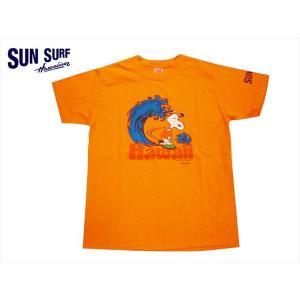 サンサーフ/SUN SURF× PEANUTS(ピーナッツ) コラボ 半袖Tシャツ SS78227