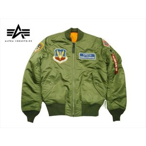 ALPHA/アルファ TA0138 MA-1 タイトフィット フライトジャケット エアークルーパッチ