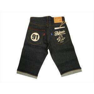 テッドマン tedman/エフ商会 ショーツ TDHP-10 12.5oz ストレッチ・デニムハーフパンツ/メンズ ショートパンツ インディゴ|bros-clothing
