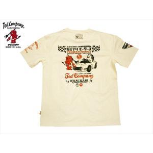 テッドマン TEDMAN×カミナリ コラボ・半袖Tシャツ エフ商会 TDKMT-13
