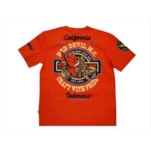 テッドマン TEDMAN/エフ商会 半袖Tシャツ TDSS-492