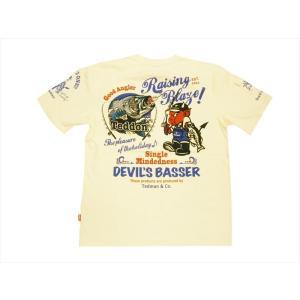 テッドマン TEDMAN/エフ商会 半袖Tシャツ TDSS-502