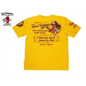テッドマン TEDMAN×シグナル・コラボ/エフ商会 Tシャツ TDSS-503