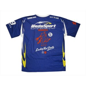 WedsSport BANDOH×TEDMAN テッドマン×カミナリ トリプルコラボ 半袖Tシャツ WEDSDRT-01