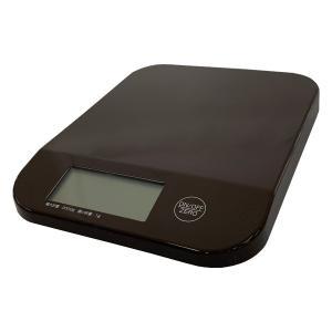 ドリテック デジタルスケール シフォン 2kg ブラウン KS-252|broussonetia