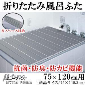 東プレ AG 折りたたみ風呂ふた 75×120cm用 L12|broussonetia