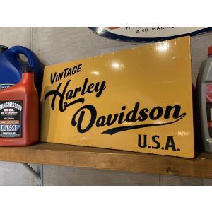 HARLEY-DAVIDSON サインボード ハンドペイントサインボード 看板 手書き看板 brown-online