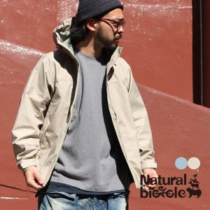 "ナチュラルバイシクル Naturalbicycle Nylon Mountain Parka ""Refrecter""