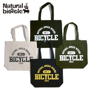 ナチュラルバイシクル Naturalbicycle NATURAL SIGN Tote Bag brownfloor