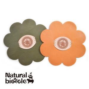 ナチュラルバイシクル Naturalbicycle × natural hands  EZO BAND Leather Coin case KIT (Craft by natural hands)|brownfloor