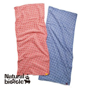 ナチュラルバイシクル Naturalbicycle EZONOHA TOWEL|brownfloor