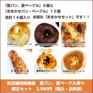 「夏パン、夏ベーグル」プラス「おまかせパン、ベーグル」限定セット|brownykyoto