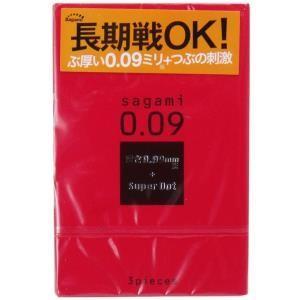サガミ 0.09ドット コンドーム 3個入 単品1個
