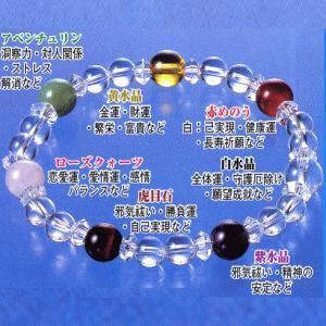 七貴石水晶ブレス|brtk