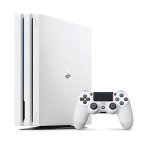 SONY PlayStation 4 Pro プレイステーション4 プロ Glacier White グレイシャー ホワイト 通常版 1TB CUH-7200B B02 PS4 本体 ☆ 新品 未使用 本体☆|brutusmobile
