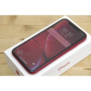 SIMフリー Apple Store 販売モデル iPhone XR 128GB (PRODUCT) RED レッド MT0N2J/A ☆ 中古 白ロム 本体 ☆ brutusmobile