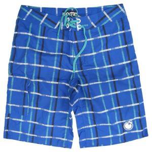 注目ブランド★ノーミス NOMIS OG PLAID BOADSHORT :BLUE【サーフパンツ メンズ Men's】*sl40〜sf*|brv-2nd-brand