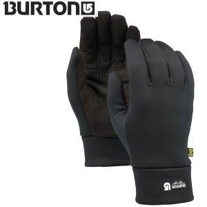 17-18 BURTON インナーグローブ MB TOUCH N GO LINER 10323101: TrueBlack 正規品/バートン/メンズ/snow|brv-2nd-brand
