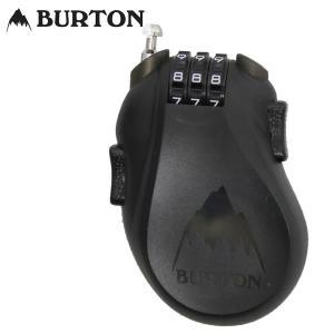 17-18 BURTON ケーブルロック Cable Lock 10802102: Translucent Black 正規品/カギ/鍵/ワイヤー/バートン/スノーボード/cat-snow|brv-2nd-brand