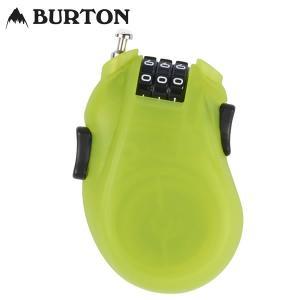 17-18 BURTON ケーブルロック Cable Lock 10802102: Lime 正規品/カギ/鍵/ワイヤー/バートン/スノーボード/cat-snow|brv-2nd-brand
