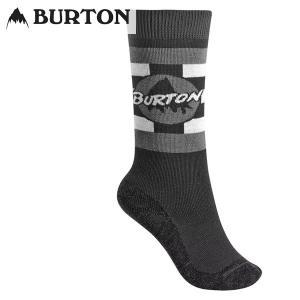16-17 子供用 BURTON ソックス Boys' Emblem Sock 10072103: True Black 正規品/ジュニア/キッズ/スノーボードウエア/ウェア/バートン/snow|brv-2nd-brand