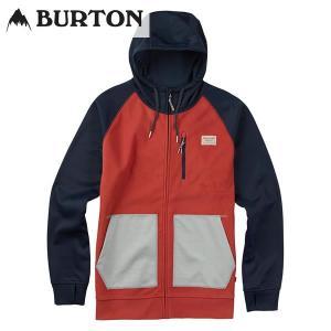17SS BURTON パーカー Classic Bonded Full-Zip Lite 16538103: Tandori / Eclipse 正規品/バートン/メンズ/スノーボード/ウエア/ウェア/snow/2017|brv-2nd-brand