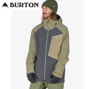 17-18 BURTON ジャケット [ak] Gore-Tex 2L Cyclic Jacket 10002104: Faded Rucksack Safari 正規品/メンズ/スノーボードウエア/ウェア/バートン/snow|brv-2nd-brand